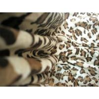 Buy cheap Skull Print Velboa Faux Fur Fabric Tear - Resistant For Home Textile from wholesalers