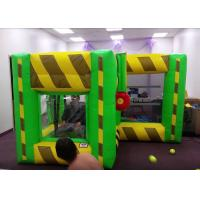 Buy cheap Indoor Outdoor Inflatable Interactive Games / Inflatable Dunk Tank System For Kids from Wholesalers