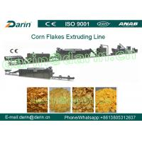 Buy cheap Full Automation Corn Flakes Processing Machine Stable Large Capacity from wholesalers