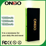 Buy cheap ONBO 12v 16000mah peak current jump starter power bank portable jump starter car jump starter from wholesalers