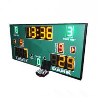 Buy cheap 3 Colors LED Basketball Scoreboard With Wireless PC Software Controller from wholesalers