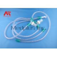 Buy cheap Patient Anesthesia Corrugated Disposable Breathing Circuit DEHP Free from wholesalers