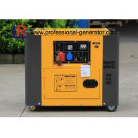 4.5kw Portable Diesel Generator / Electric Generator 7.8H Continuous Running Time