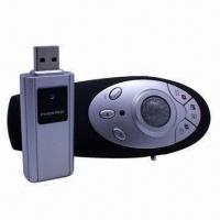 Buy cheap RF Wireless Red Point Presenter, Laser Pointer/Trackball Mouse/Open Outlook Express/Close Current from wholesalers