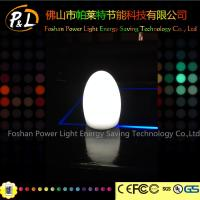 Buy cheap Wireless Color Changing Led Egg Lamp with remote controller product
