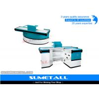 Buy cheap Electronic Conveyor Belt Convenience Store Checkout Counter Cash Register Counter from wholesalers