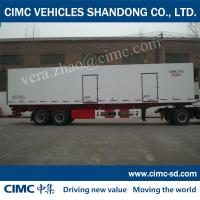 Buy cheap CIMC perishable food transport stock trailers for sale refrigerated semi-trailer from wholesalers