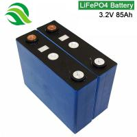 Buy cheap Rechargeable 3.2V 85Ah LiFePO4 Battery Cell Factory Price  For EBike AGV Robot Lawn Mower from wholesalers