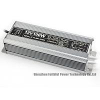 Buy cheap IP67 Rated 12V 24V Dc 100W Outdoor LED Light Power Supply to Convert from High Volt to Low Volt from wholesalers