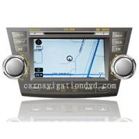 Buy cheap Toyota highlander car gps navigation dvd player system from wholesalers