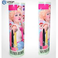 Buy cheap Lipstick Advertising Cardboard Display LAMA Screen Printing For Cosmetic Store from wholesalers