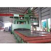 Buy cheap Steel Structure Roller Conveyor Shot Blasting Machine Rust Removing ISO9001 from wholesalers