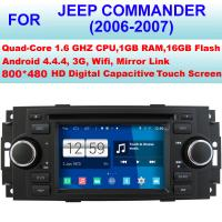Buy cheap Intelligent Parking Stereo Jeep DVD Player 2006 2007 2006 Jeep Commander Navigation System from wholesalers