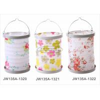 Buy cheap Metal Drop Lampion Paper Lantern Craft Solid color Party Wedding Rose 13 X 20 cm from wholesalers