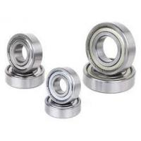 Buy cheap 618 ISO Low Vibration Deep Groove Ball Bearings With Steel Cage from wholesalers