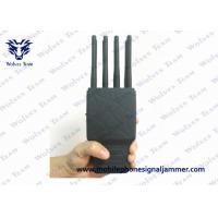 Buy cheap Handheld 8 Bands All CellPhone and WIFI GPS Signal Jammer with Nylon Case from wholesalers