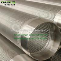 Buy cheap SUS 304,304L316,316L Water well metal mesh with cylinder shape for well water filter from wholesalers