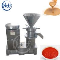Buy cheap 304 Stainless Steel Automatic Food Processing Machines Peanut Butter Making Equipment from wholesalers