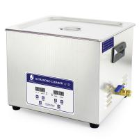 Buy cheap JP -060S 40KHz 15L Benchtop Ultrasonic Cleaner , electric fule stencil ultrasonic cleaning machine from wholesalers