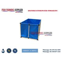 Buy cheap 2000L Flexible Square 5000L Fish Farming Tank Indoor and Out Door Using Water Storage Tank from wholesalers