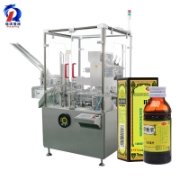 Buy cheap 125 Carton / Min Full Automatic bottle Cartoning Machine for sale from wholesalers