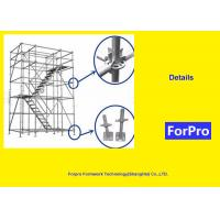 Buy cheap Bridge And Tunnel Construction Scaffolding Hot Dipped Galvanized Surface Treatment from wholesalers