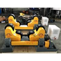 Buy cheap 10 Ton Driving Inverter Control Pipe Rotators For Welding , Long Life Time product