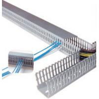 Buy cheap Durable Self adhesive plastic cable duct , wire duct, cable trays, cable cover for stage, electric from wholesalers