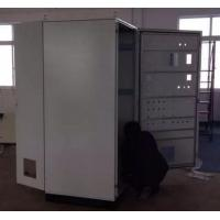 Buy cheap Galvanized Surface Lockable Server Cabinet Stainless Steel High Strength product
