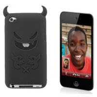 Buy cheap Shaped Black / Blue / Purple Cell Phone Silicone Cases For Iphone 4s OEM / ODM product