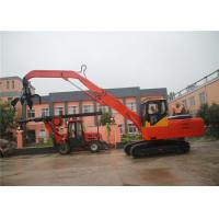 Buy cheap Material Handler Crawler Excavator With Hydraulic Wood Grapple / Log Grab / Timber Gripper from wholesalers