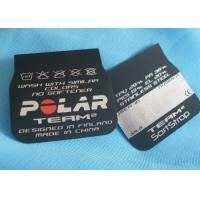 Buy cheap Eco - Friendly Fabric Clothing Screen Printing Label Matt / Shinny Surface from wholesalers