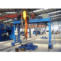 Buy cheap Gantry Type Automatic Welding Machine Light Pole For High Mast Main Motor Power 10KW from wholesalers