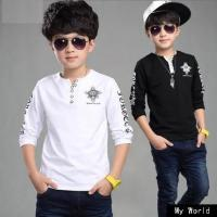 Buy cheap Beautiful baby long sleeve top striped Boy t shirt kids tops long striped sleeve tops for baby boys from wholesalers