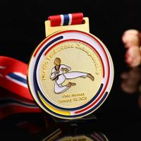 Buy cheap Wholesale cheap 3d  blank karate taekwondo marathon running medals and trophies sports from wholesalers