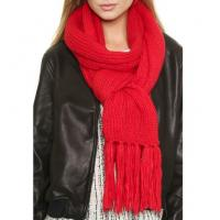 Buy cheap Lady wool scarf china wholesale with fringed edge from wholesalers