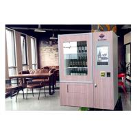 Buy cheap Wine Glass Bottle Vending Machine With Elevator System , Juice Beer Vending Kiosk from wholesalers