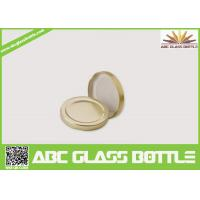 Buy cheap Gold Supplier Of Tinplate Screw Twist Off Glass Bottle Cap from wholesalers