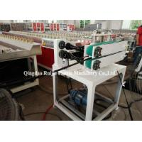 Buy cheap Industrial Corrugated Pipe Production Line 6 - 16mm Diameter With PLC Control product