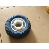Buy cheap Rubber Powder PU Trolley Wheels 50X50 PU1409 For Wheelbarrow from wholesalers