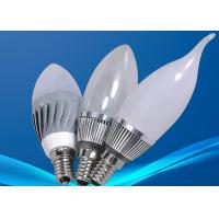 Buy cheap RoHS Dimmable 3W LED Candle Bulbs , Commercial Lighting Fixture 3000K -6000K from wholesalers