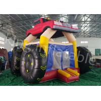Buy cheap 5 * 4 M Colorful Car Inflatable Jumping Castle And Commercial  Bouncy Castle from Wholesalers