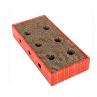 Buy cheap Flat Horizontal Cat Scratcher OEM 100% Eco - Friendly With Longer Scratching Life from wholesalers