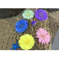 Buy cheap Calendula Pressed Dried Flower Art Diameter 4 - 6 CM Natural Plant For Wedding from wholesalers