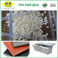 Buy cheap SGS , ROSH , FDA Certificated EVA Hot Melt Glue Adhesive With Milk Granule Appearence from wholesalers