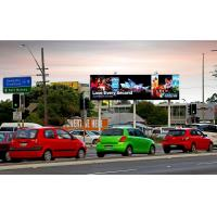 Buy cheap Full Color Waterproof Led Billboard Advertising , Outdoor Led Video Wall 110V / 60HZ from wholesalers