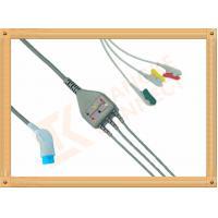 8 Pin Nihon Kohden Ecg Cable / 3 Lead Ecg Cable Grabber IEC