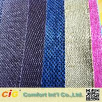 Buy cheap Woven Technics Jacquard Chenille Upholstery Fabric With Multicolor product