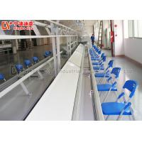 Buy cheap Aluminium Assembly Line Conveyor LED Light Assembly Line Equipment With PVC Conveyor Belt from wholesalers