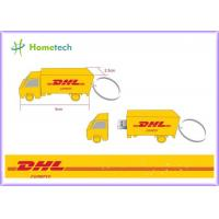 Buy cheap Cartoon DHL Truck Customized USB Flash Drive with High Speed USB memory 4GB / 8GB product